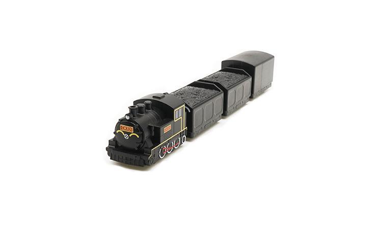 CK101 煤車篷車列車