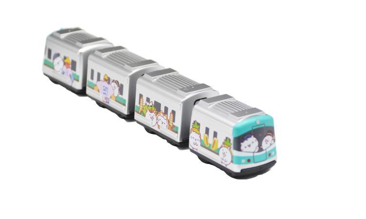 高捷&貓咪軍團 彩繪列車
