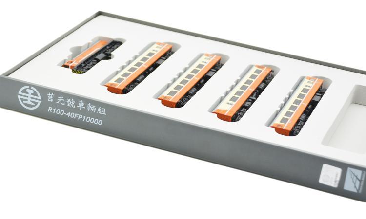 R100(橘)  +  40FP10000 莒光車輛組